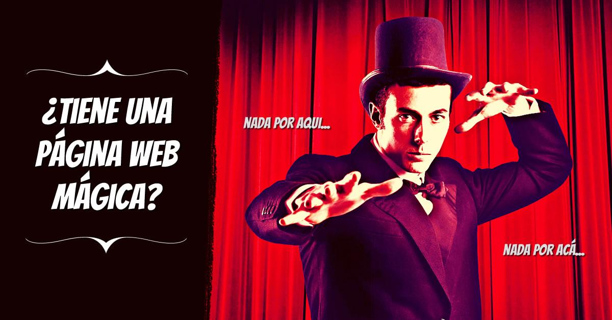 ¿Tiene una página web mágica?