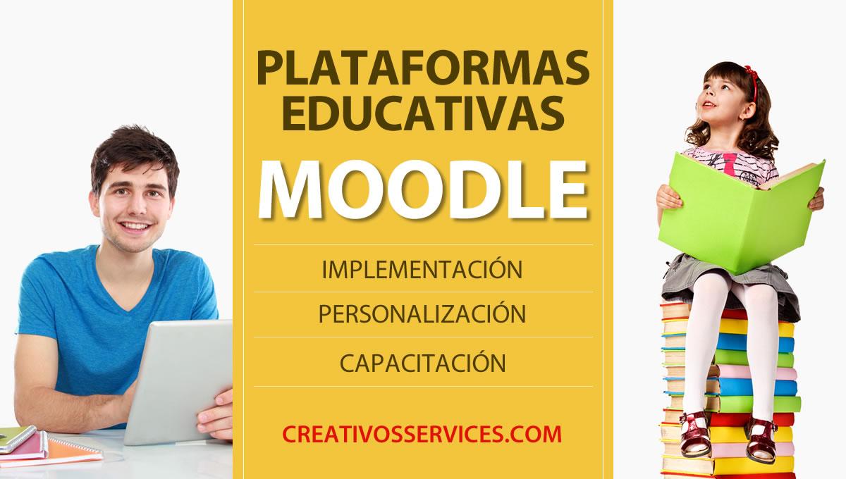 Plataformas educativas MOODLE Bucaramanga Colombia