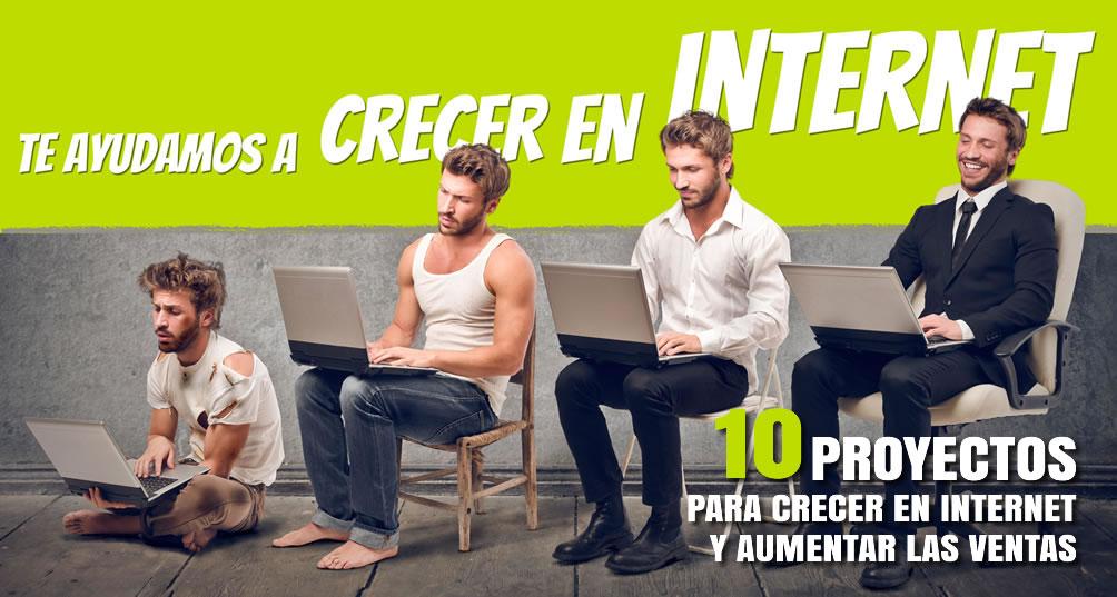 10 Proyectos para crecer en internet