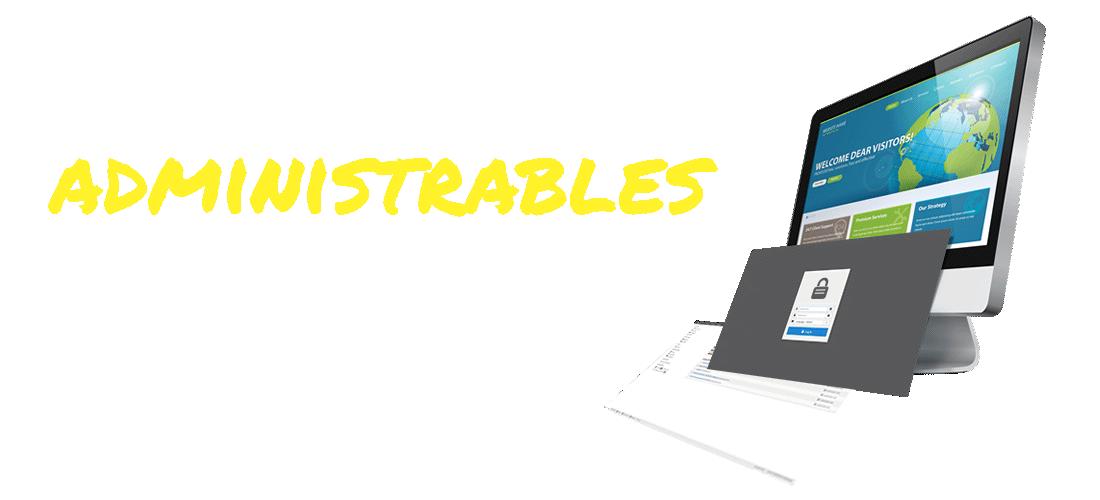 Paginas web administrables, paginas actualizables, CMS, Gestor de contenidos